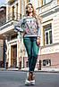 Осенний женский свитшот, фото 3