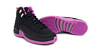 Jordan Retro 12 KINGS Black Purple