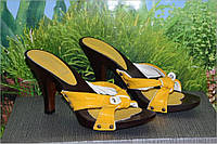 Сабо босоножки кожа модель М27 качество KUVA 39