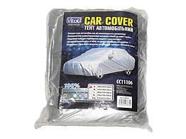 Тент на машину CC11106 S серый Polyester 406х165х120см