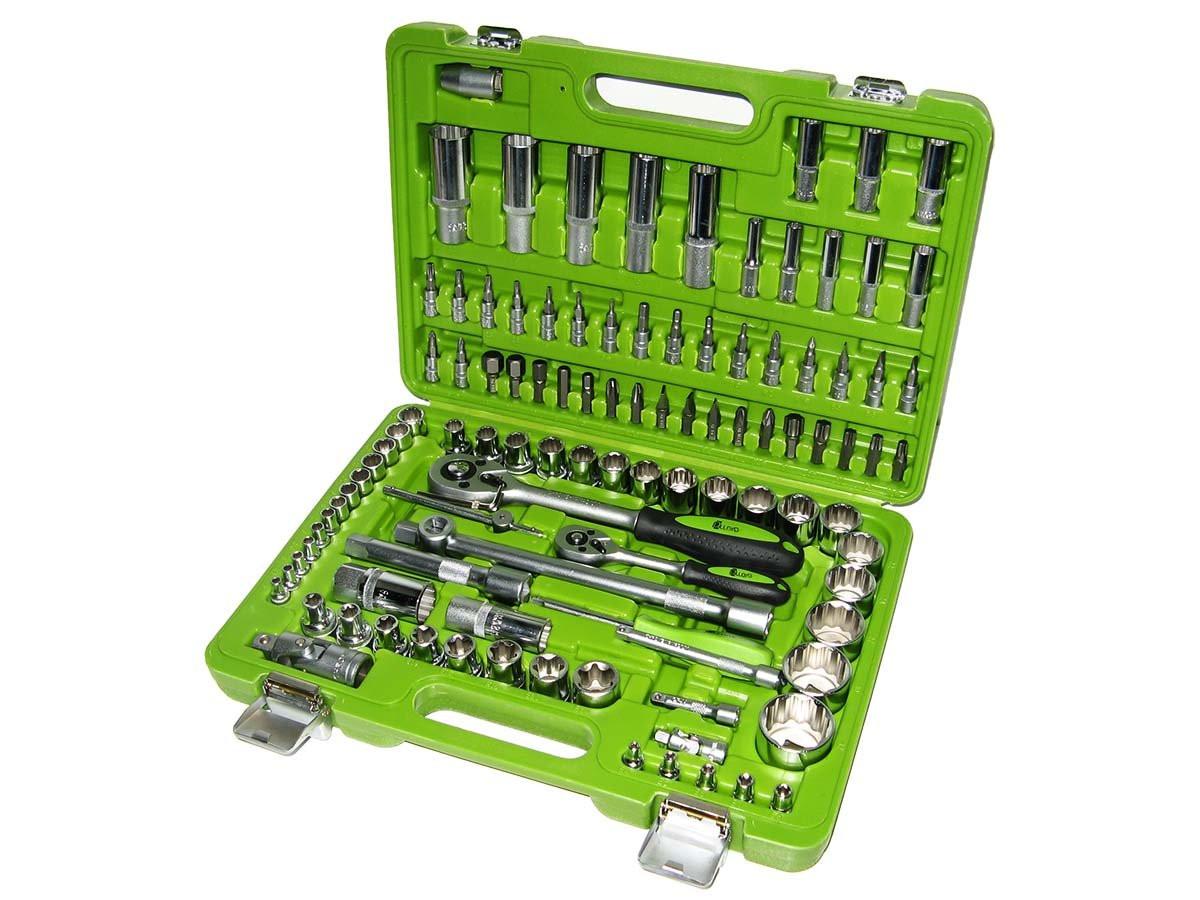 Набор ключей и инструментов 108 пр. НГ-4108П-6 Alloid 6-гран