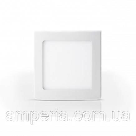 Евросвет Светильник LED-R-120-6 6Вт 4200К круг Встраиваемый 120мм