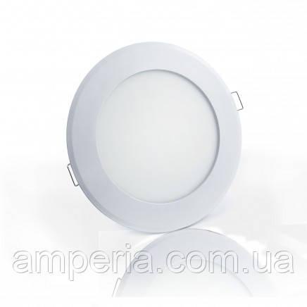 Евросвет Светильник LED-R-150-9 9Вт 6400K круг Встраиваемый 150мм