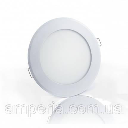 Евросвет Светильник LED-R-225-18 18вт 6400K круг Встраиваемый 225мм, фото 2
