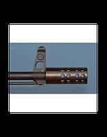 Дульный компенсатор Веер 208/209 двухкамерный, резьба М14х1 левая, материал Ст-40Х, вес 200гр.