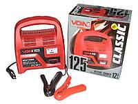 Зарядное устройство VOIN 12V/4A/12-60AHR/стрел.индик. Зарядное устройство для аккумулятора авто