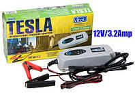 Зарядное устройство TESLA 12V 3.2A/1,2-120AH/3реж импул Зарядное устройство для аккумулятора авто