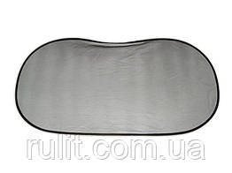 Шторка на задн.стекло на присосках ТН-308 В (овал) 100*50см