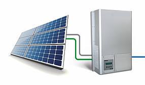 Сонячна електростанція для зеленого тарифа на 30кВт. Панелі Risen 270 полікристал.