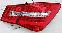 Задние Chevrolet Cruze седан 2009-2012 альтернативная тюнинг оптика фары тюнинг-оптика задние на для Chevrolet Cruze Шевроле Круз