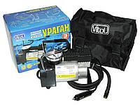 Автомобильный компрессор Ураган 12Amp/35л 12030 автомобильный насос для подкачки шин от прикуривателя