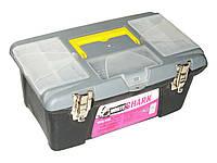 Ящик для инструмента пласт. средний 16`