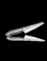 Обвалочный нож,  сталь 1K6, 145мм, металл.рукоять