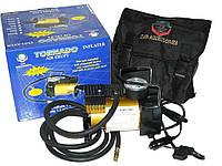 Автомобильный компрессор Торнадо AC-580 150psi/14Amp/35 автомобильный насос для подкачки шин от прикуривателя