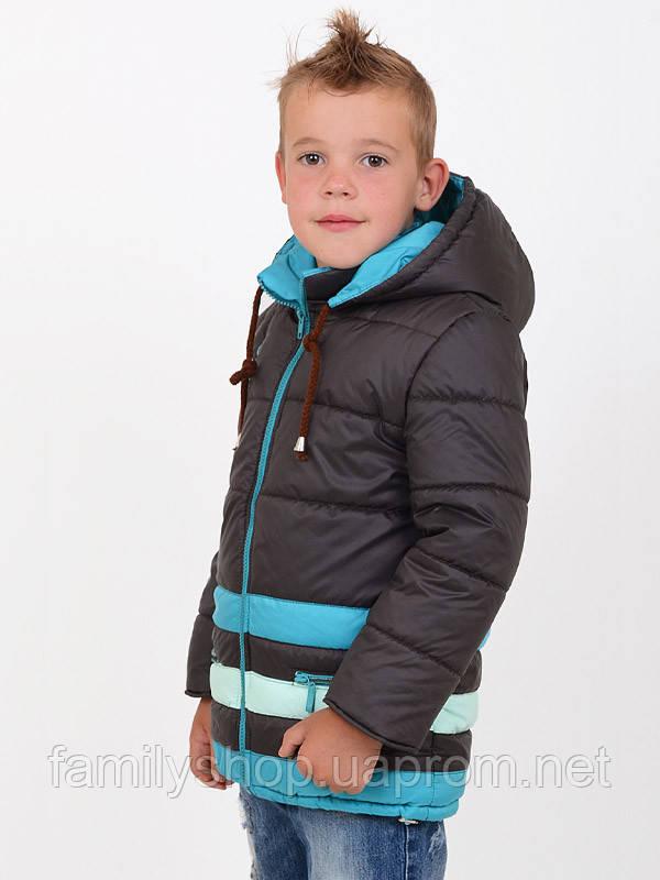 Детская весенняя куртка на мальчика Luxik