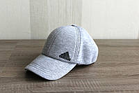 Бейсболка Adidas c ушками , зима (Grey)