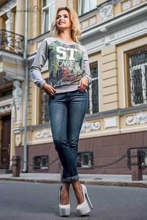 Городской женский свитшот