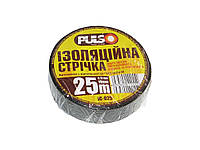 Изолента PULSO PVC 25 м черная