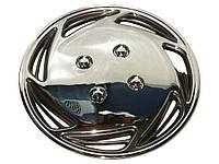 Колпаки на колеса диски для дисков Тайвань R13 80-093С/C хром/черн колпак