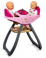 Стульчик для кормления близнецов Smoby 220315  Baby Nurse