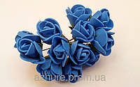 Роза латексная синяя 1,5-2 см
