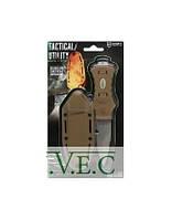 Нож McNETT тактика, сталь 420, клинок 7,62см., цвет Coyote, стеклобой, стропорез, серрейтор + ножны быстросъем.(пластик)