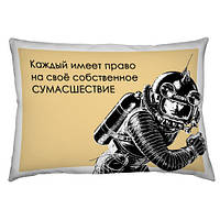 """Подушка """"ПозитиФчик"""" 45х32 (габардин)"""
