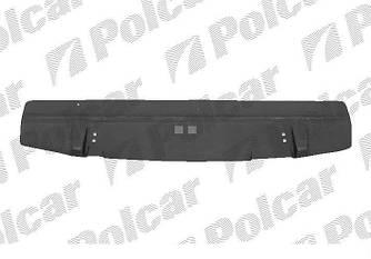 Защита двигателя передняя часть, пластина на Renault Trafic 1.9dCi  2001->2006 — Polcar (Польша) - 602634-6