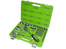Набор инструментов и ключей 55 пр. НГ-4055П-6 Alloid для авто в машину Автоинструменты