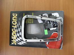 Рамка пыльника КПП F-83017 аллюм./хром(трапеция-2)