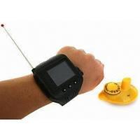 Эхолот часы Lucky Fish Finder FF 518, цветной экран, глубина 0,6-45 м, литий- ионная батарея 3,7 В