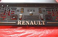 Рамка под номер книжка RENAULT