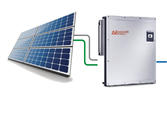 Сонячна електростанція для зеленого тарифу на 10кВт. Панелі Risen 270 полікрістал, фото 2