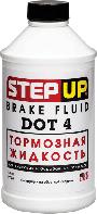 Тормозная жидкость Step Up DОТ-4 355мл SP7057
