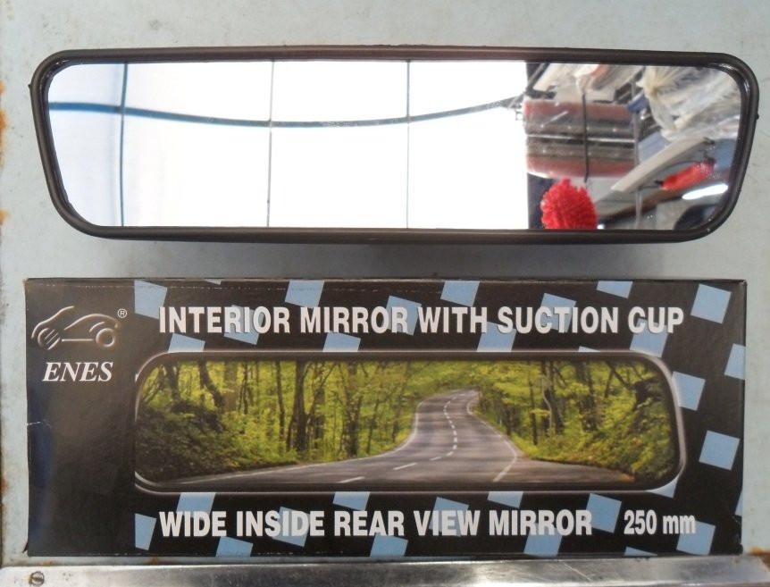 Зеркало салона УНИВЕРСАЛЬНОЕ на присоске 250 мм