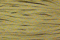 Тесьма тейлон 8мм (50м) желтый+голубой , фото 1