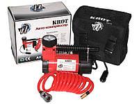 Автомобильный компрессор KROT (red) 100psi/12Amp/30л/прик автомобильный насос для подкачки шин от прикуривателя