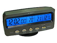 Часы VST-7045V +термометр внут/наруж/подсветка/вол