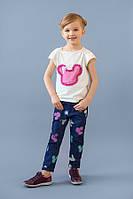Стильные детские джинсы для девочек, модные детские джинсы
