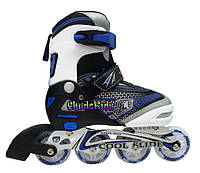 Раздвижные роликовые коньки NRG CS-1401 M синие