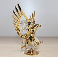 Фигурка с кристаллами Сваровски Орел 8,5 см AR-3456