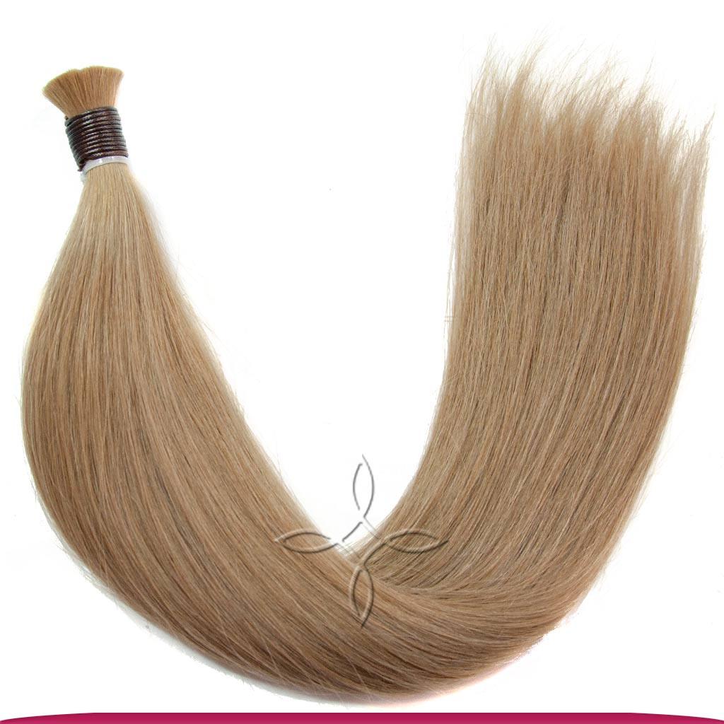 Натуральные Славянские Волосы в Срезе 60 см 100 грамм, Русый №08