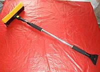 Щетка скребок для снега телескоп