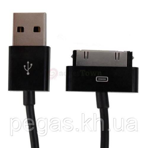 USB КАБЕЛЬ IPHONE 3G/3GS/4/4S Черный. Качество!