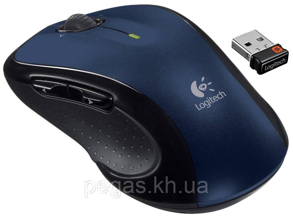 Мышь безпроводная Logitech M510. Синяя. Из США