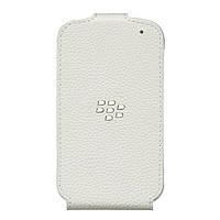 Кожаный чехол для Blackberry Q10. Белый Эксклюзив!, фото 1