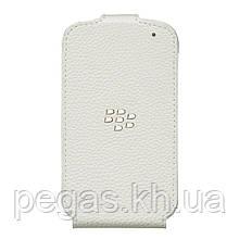Шкіряний чохол для Blackberry Q10. Білий Ексклюзив!