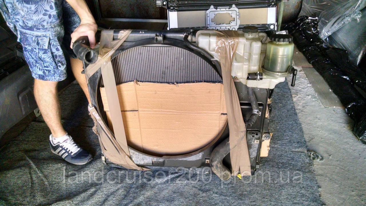 Радиаторы и диффузор Toyota Land Cruiser 200