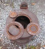 Буржуйка чавунна, фото 4