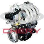 Кольца поршневые комплект на двигатель +0.25 1.1L 472-BJ1004030BA Chery 472 (Оригинал)